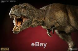 Sideshow T-rex The Tyrant King Statue Tyrannosaurus Rex Dinosaur Figure New