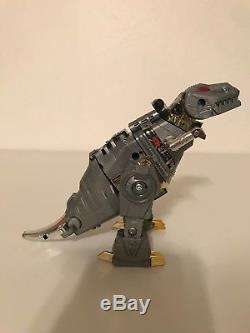 TAKARA Transformers Gen 1 Dinobot T Rex Dinosaur Toy Robot 1984 Tyrannosaurus