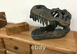 T-Rex Dinosaur Skeleton Skull Ornament Tyrannosaurus Raptor Archaeology Fossil