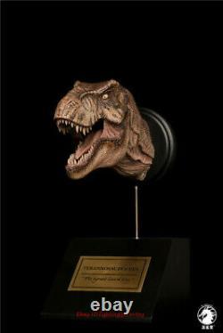 T Rex Female Tyrannosaurus 1/15 Head Statue Dinosaur Model With Base INstock