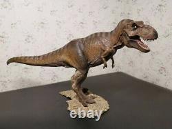 T-Rex Female Tyrannosaurus Model Dinosaur Statue 1/35 Figure Base Ornament