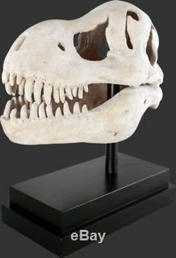 T-Rex Skull Bone on Stand Prehistoric Dinosaurs Display Prop Decor Jurassic Park