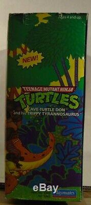 Teenage Mutant Ninja Turtles Cave Don & His Trippy Tyrannosaurus T-Rex Dinosaur