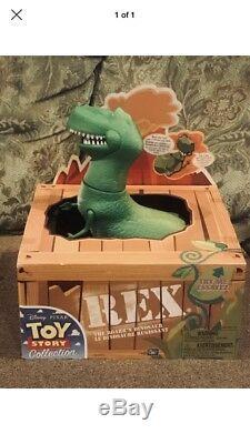 Toy Story 3 Disney Pixar Collection Roarrn Dinosaur Rex Thinkway Toys T-Rex