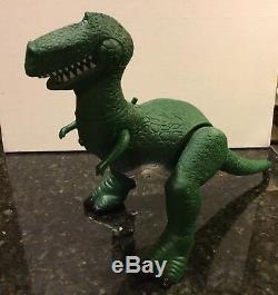 Toy Story T Rex Dinosaur Figure Talking Thinkway 1996 Disney Pixar Rare