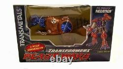 Transformers Beast Wars Transmetal Megatron Evil Predacon T-Rex Dinosaur