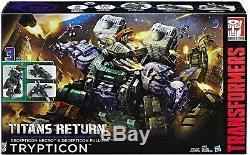 Transformers TRYPTICON Decepticon TITANS RETURN T REX Dinosaur 3 Modes New