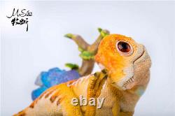 Tyrannosaurus Rex Baby Scene Statue Dinosaur Model T-Rex Animal Collector GK Toy
