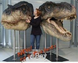 Tyrannosaurus Rex GIANT T-REX HEAD Dinosaur Life-Size NEW PRE-ORDER