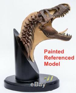 Unpainted 1/20 Tyrannosaurus T Rex Head Dissection Model Dinosaur Collector Gift