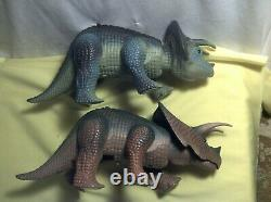 Vintage 1987 Tyco Dino Riders Dinosaurs Lot of 13 T-Rex More