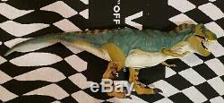 Vintage 1997 Hasbro Jurassic Park Bull T-Rex Figure JP 28 Dinosaur