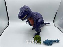 Vintage He-Man Motu Tyrantisaurus Dinosaur T-Rex Figure COMPLETE- WORKS