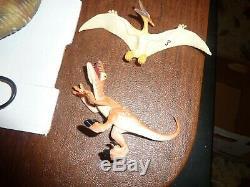 Vintage Jurassic Park Command Compund Playset Kenner withT-Rex/Dinosaurs/Parts