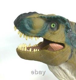Vintage Jurassic Park JP28 Bull T-Rex Dinosaur 1997 Tested Sound Working