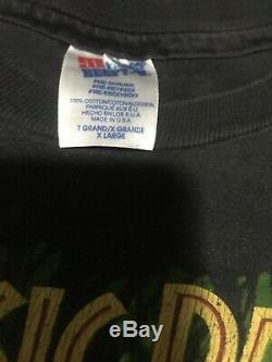 Vintage Jurassic Park T-shirt 1993 Movie Promo dinosaur movie T Rex Sz M (YXL)