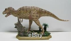 Vintage Kaiyodo Tyrannosaurus Rex with Base T Rex Dinosaur Figure