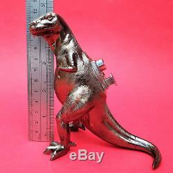 Vintage Metal T-Rex Dinosaur Table Top Lighter Japan (Rare)