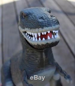Vintage Tyco Dino-Riders Tyrannosaurus Rex Toy with Original Box T-Rex Dinosaur