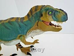 Vtg 1997 Jurassic Park Lost World Bull T Rex Dinosaur JP28 Large Working Sound