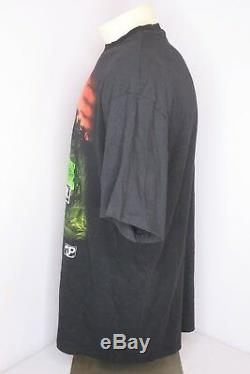 Vtg'93 NWOT Jurassic Park JP T-Rex Dinosaur Black T-Shirt Movie 90s NWOT Sz XL