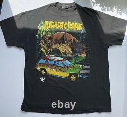 Vtg Jurassic Park T Rex Movie Promo Shirt Size Adult XL 1993 Single Stitch