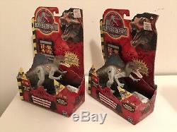Vtg Lot Of 10 Hasbro Raptor T Rex Jurassic Park 3 III Electronic Dinosaur New