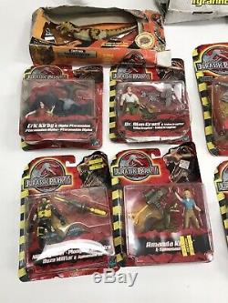 Vtg Lot Of 12 Hasbro Velociraptor T Rex Jurassic Park 3 III Electronic Dinosaur