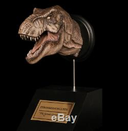 W-Dragon Female Tyrannosaurus T Rex Head Statue Dinosaur Model Figure Collector