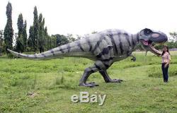 Walking T-Rex Dinosaur Huge Statue Huge T-Rex Dinosaur Statue Walking LifeSize