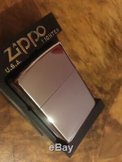 Zippo Lighter Barrett Smythe Dinosaur T-Rex HP Chrome 1993 MEGA RARE NEW
